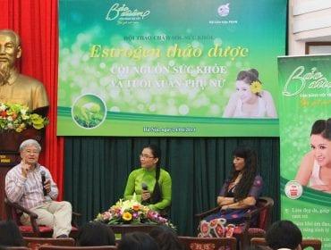 GS.TS Vương Tiến Hòa giải thích các triệu chứng thường gặp khi chị em bị thiếu hụt nội tiết tố nữ