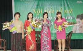 450 phụ nữ TP Thái Bình được tư vấn về sức khỏe tiền mãn kinh