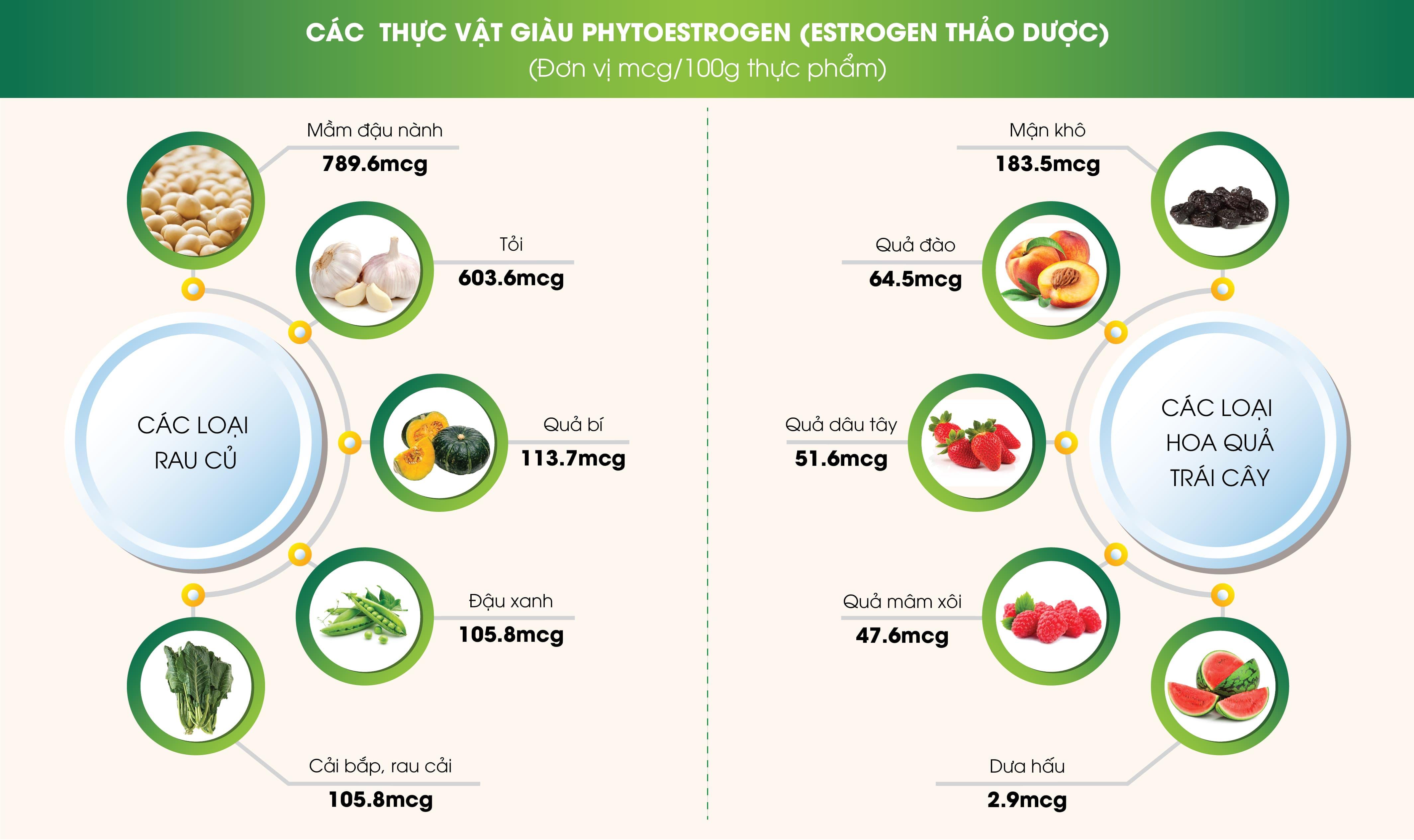 ham-luong-phytoestrogen-trong-thuc-pham
