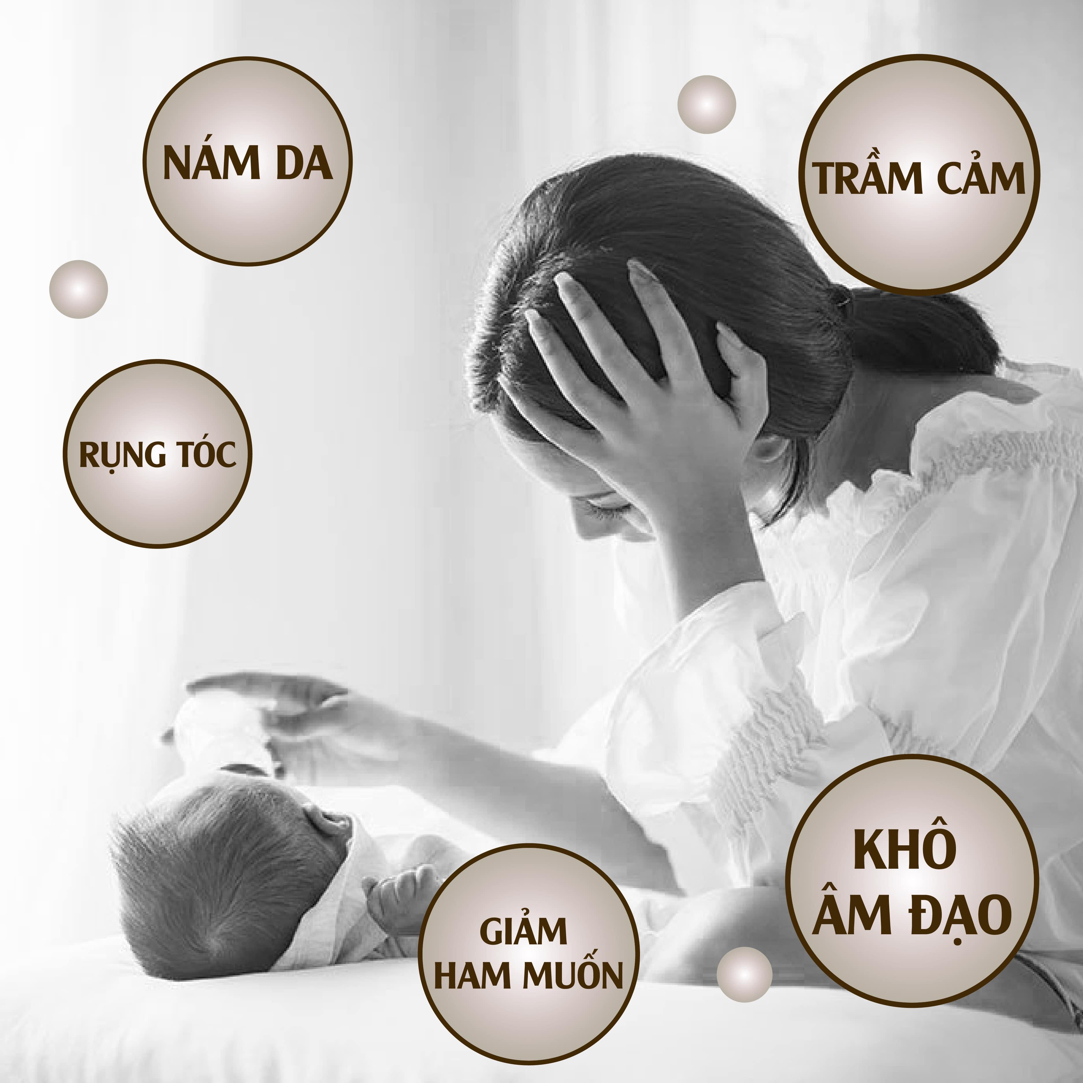 Suy giảm nội tiết tố nữ sau sinh – nguyên nhân, dấu hiệu, cách khắc phục