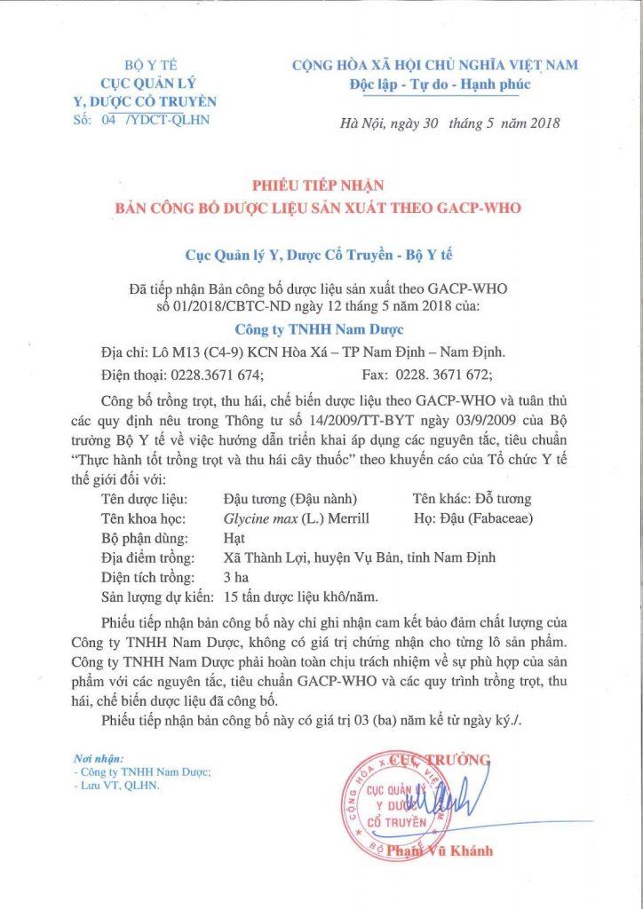 ban-cong-bo-dau-nanh-duoc-lieu-chuan-GACP-WHO