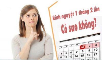1 tháng có kinh 2 lần – BẤT THƯỜNG hay BÌNH THƯỜNG?